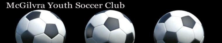 McGilvra Youth Soccer Club banner